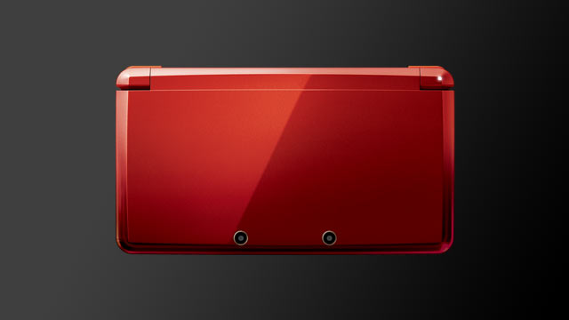 Top Side of 3DS