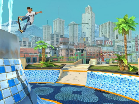 Shaun White Skateboarding 02