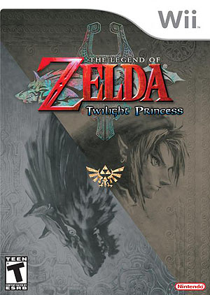Zelda: Twilight Princess Box Art