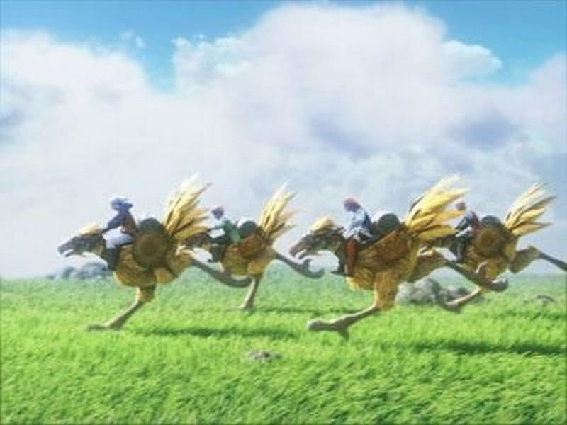 ff7 how to use chocobo