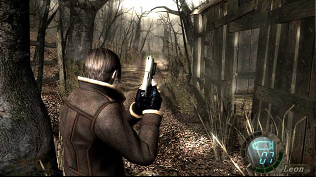 Resident Evil 4 Screen