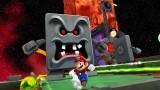 Super Mario Galaxy 2 Screenshot - Thwomp!