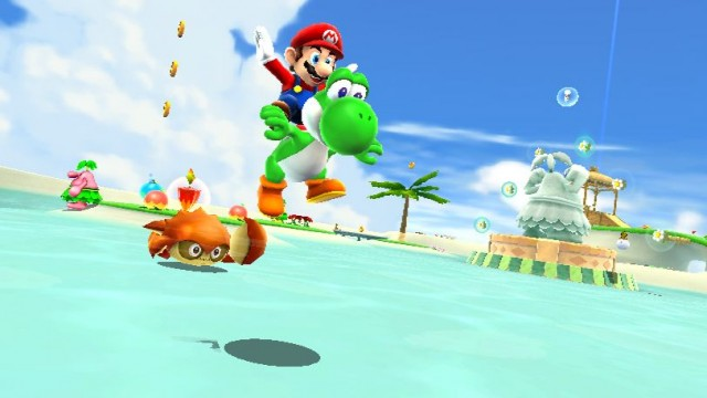 Super Mario Galaxy 2 Screenshot - Yoshi