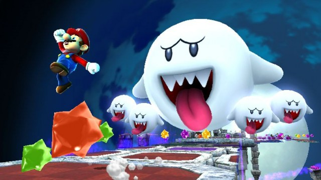 Super Mario Galaxy 2 Screenshot - Boos