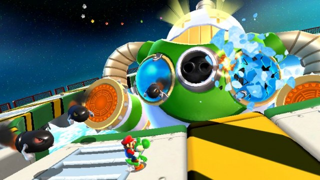 Super Mario Galaxy 2 Screenshot - Explosive