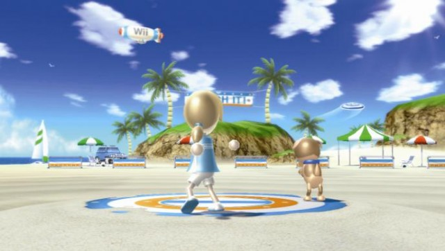 Wii Sports Resort Screen