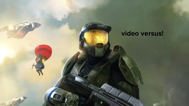 Video Versus! Hardcore Style Battle: Master Chief vs. Tingle