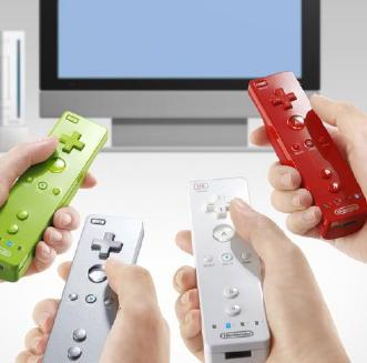 Wii's Original Colored Controllers