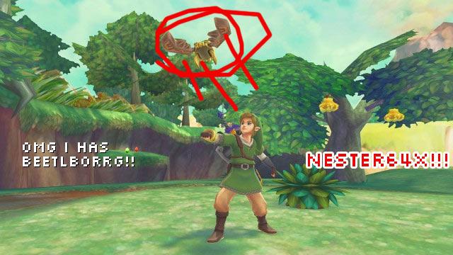 Nester64x: Zelda Beeeeetle!