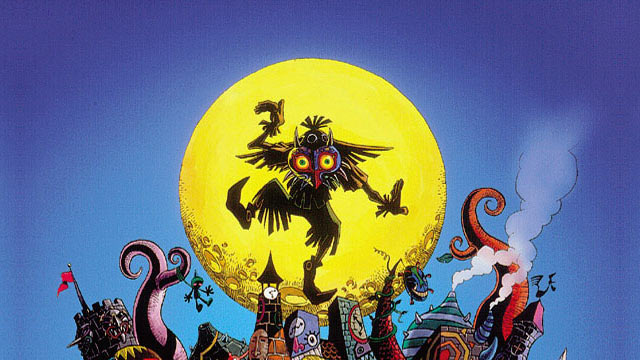 The Legend of Zelda: Majora's Mask Artwork