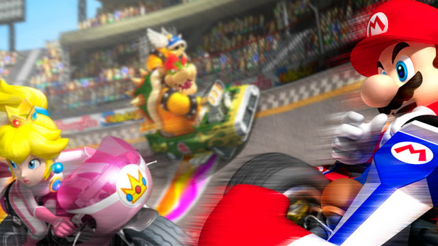 Mario Kart Wii Artwork