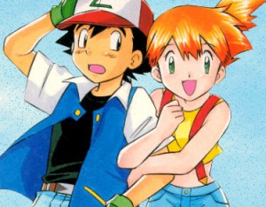 Pokémon Cartoon Ash & Misty