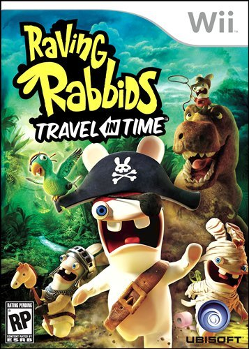 Raving Rabbids Travel in Time Boxart
