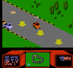 R.C. Pro-Am Screenshot