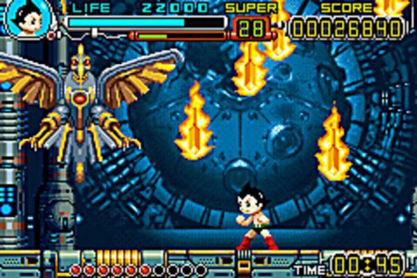 Astro Boy: Omega Factor Screenshot