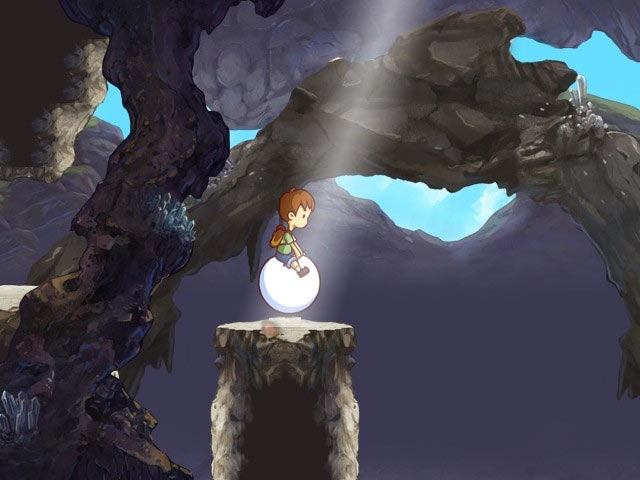 A Boy and His Blob (Wii) Screenshot