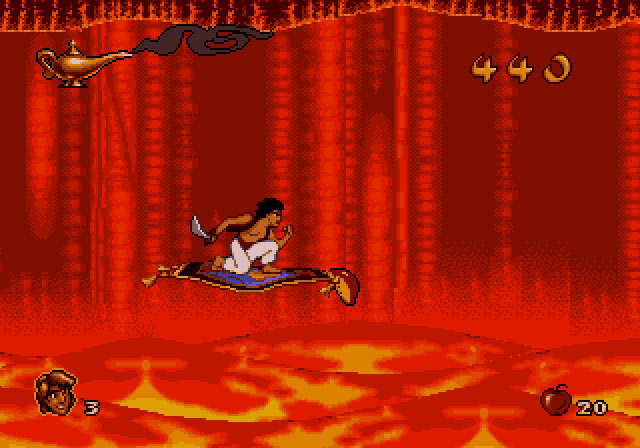 Disney's Aladdin Screenshot