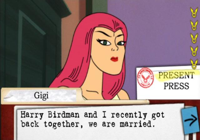 Harvey Birdman: Attorney at Law Screenshot