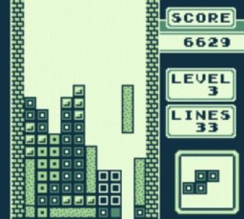 Tetris (Game Boy) Screenshot