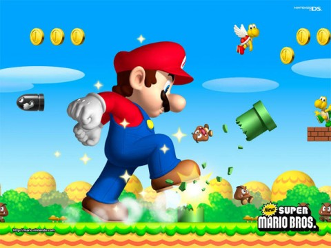 New Super Mario Bros. Artwork