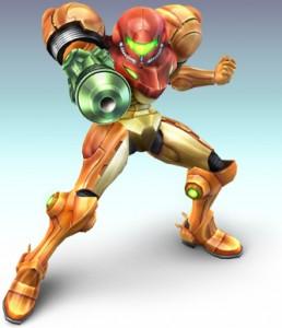 Samus artwork from Super Smash Bros. Brawl