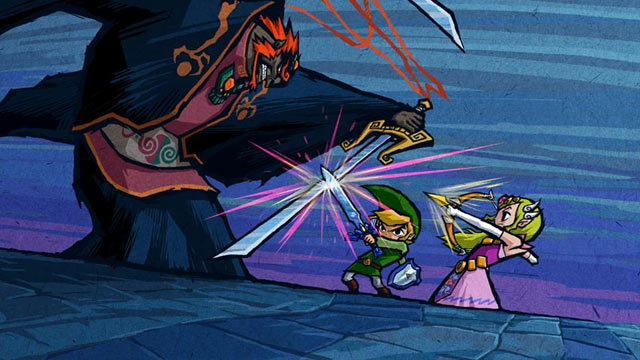 The Legend of Zelda: The Wind Waker Artwork