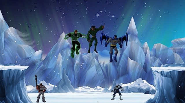 Batman: The Brave and The Bold Ice Flight