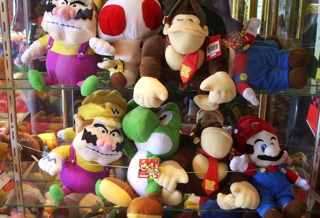 Nintendo Plush Toys