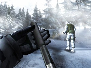 GoldenEye Wii Snow