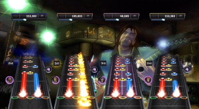 Guitar Hero Warriors of Rock - Highway Fire