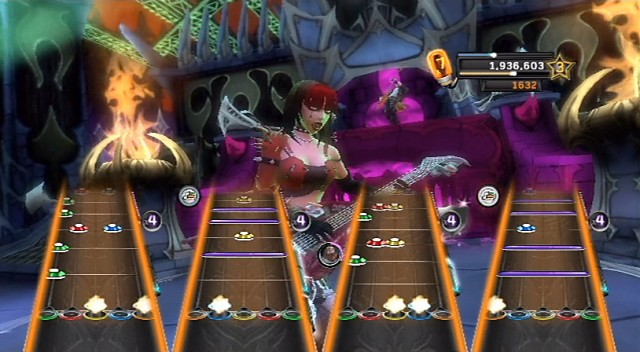 Guitar Hero Warriors of Rock - Star Power