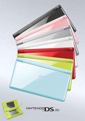 DS Lite Colors