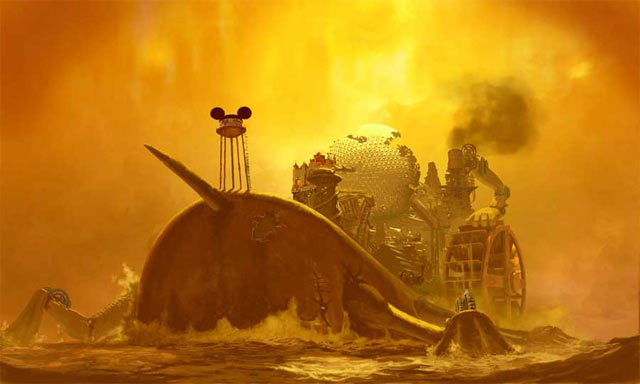 Epic Mickey Artwork