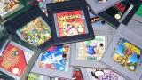 Game Boy cartridge pile