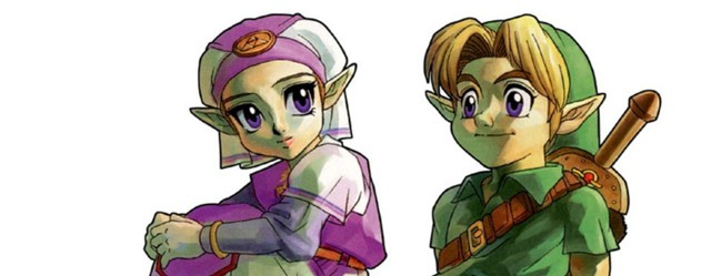 Young Link and Zelda