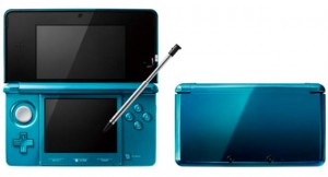 3DS Final Hardware: Aqua Blue