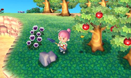 Animal Crossing 3D Screenshot