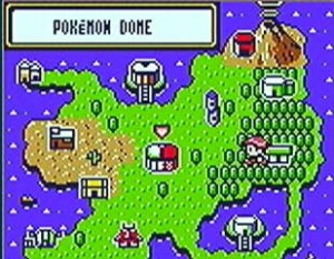 Pokémon Trading Card Game world map