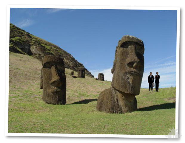 Wii Would Like to Retire -- Easter Island