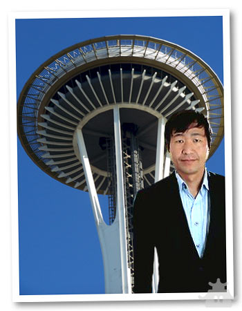 Wii Would Like to Retire -- Space Needle