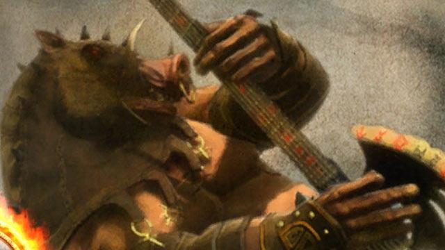 Guitar Hero: Warriors of Rock Artwork