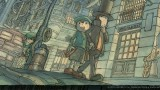 Professor Layton and the Unwound Future - Artwork