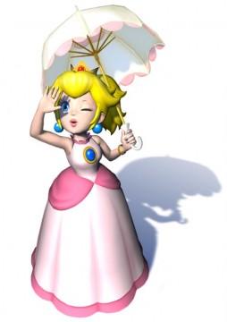 Super Mario Sunshine Artwork: Princess Peach