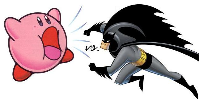Kirby vs Batman (mirror)
