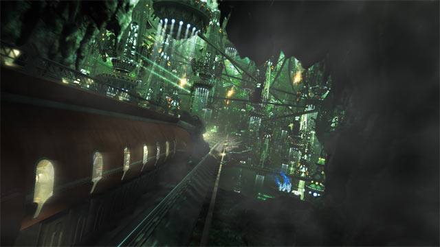 Final Fantasy XIII Cocoon Train
