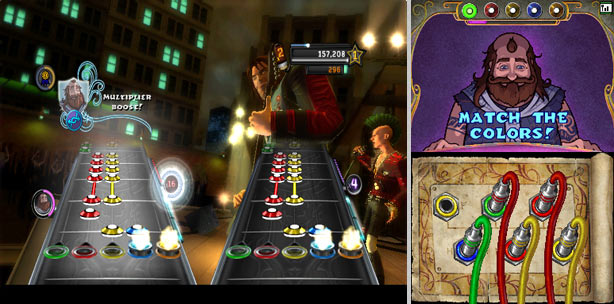 Guitar Hero: Warriors of Rock - Screenshot - Roadie Mode