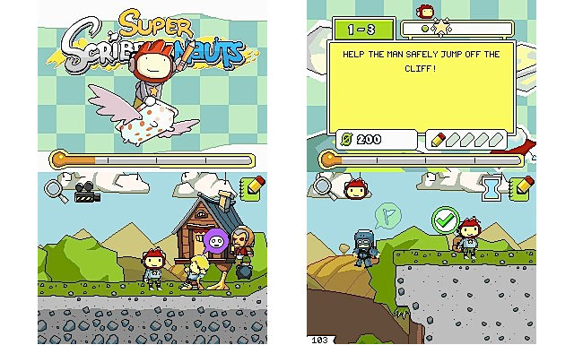 Super Scribblenauts Screenshots
