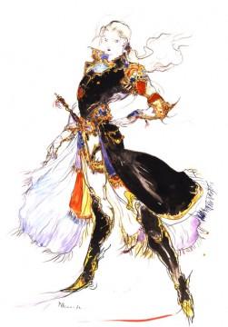 Final Fantasy V Artwork: Faris