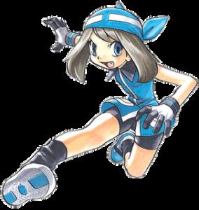 Sapphire artwork, Pokémon Adventures