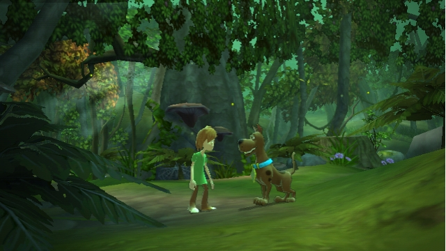 Scooby-Doo! and the Spooky Swamp (Wii) Screenshot